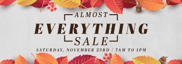 The Bridge Almost Everything Sale
