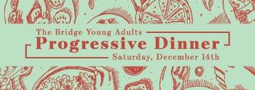 Young Adult Progressive Dinner