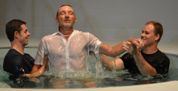 Baptism at The Bridge Fellowship Picture